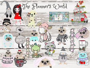 Football Moxie planner stickers - The Planner's World
