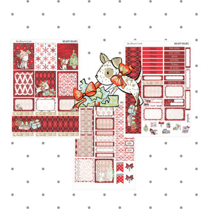Happy Howlidays Mini weekly Vertical Planner Kit - The Planner's World