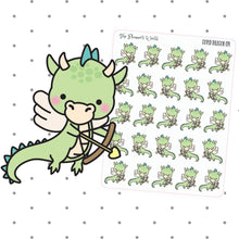 Cupid Dragon stickers - The Planner's World