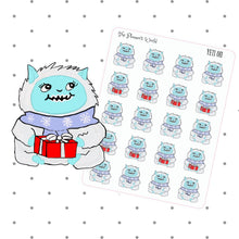 yeti holiday planner stickers - The Planner's World