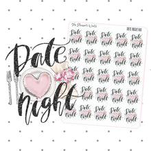 Date Night planner stickers - The Planner's World