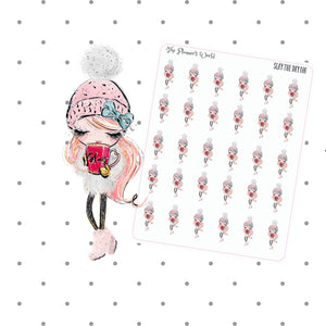 Slay the day planner stickers and Die Cuts - The Planner's World