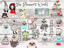 Cardstock die cut - Dunn Planning Coffee Girl Die Cut - The Planner's World