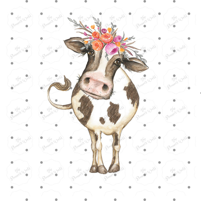 Cute Daisy Moo Cow Planner Die Cut - The Planner's World