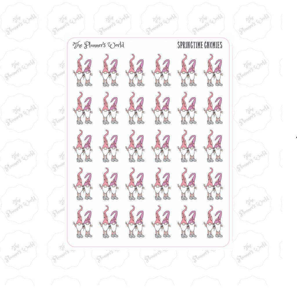 Swedish Gnome planner stickers - The Planner's World