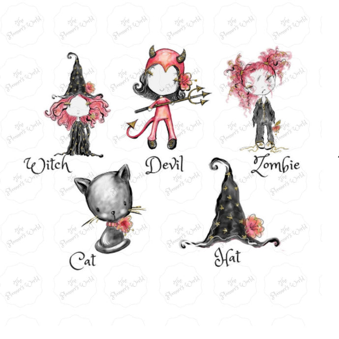 Halloween Die Cuts - The Planner's World