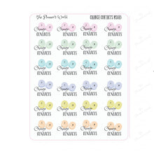 Change Contact Planner Stickers - The Planner's World