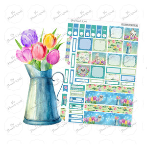 Peekaboo in the tulips Hobonichi Kit - The Planner's World