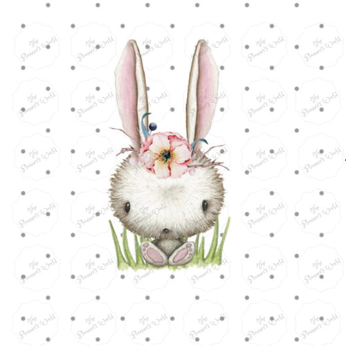 Springtime Bunny Die Cut - - The Planner's World