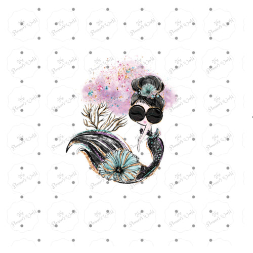 Audrey Mermaid Die Cut - The Planner's World