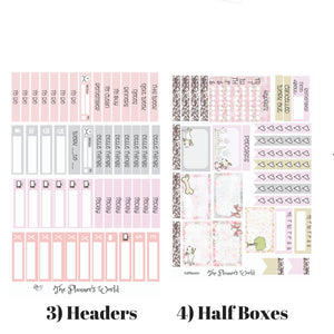 This home is filled with Love Weekly Vertical Kit - The Planner's World