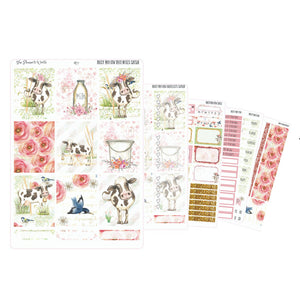 Daisy Moo Cow Weekly Kit - The Planner's World