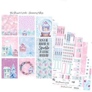 Shimmering Village Weekly Kit - The Planner's World