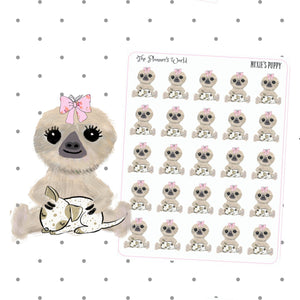Moxies Puppy dog mom planner stickers - The Planner's World