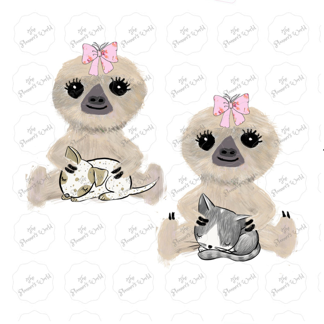 Moxie's Puppy and Moxie's Kitty Stickers - The Planner's World