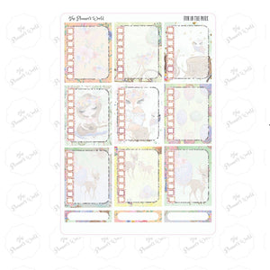 Fun in the park checklist Planner Stickers - The Planner's World