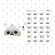 Moxie snow day weather planner stickers - The Planner's World