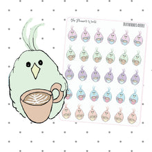 Coffee Love Doodle sticker - The Planner's World