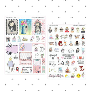 Planner Stickers - A Taste of The Planner's World Sampler - The Planner's World