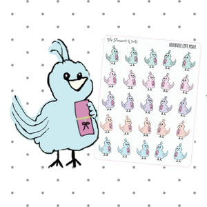Featherby Hobonichi Love Stickers - The Planner's World
