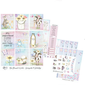Barnyards and Butterflies EC Vertical Weekly Kit - The Planner's World