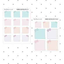 Kawaii Sticky Note perfect for Hobonichi Weeks - notes Stickers - Planner Sticker bujo  Sticker - hobonichi stickers - post it note sticker - The Planner's World
