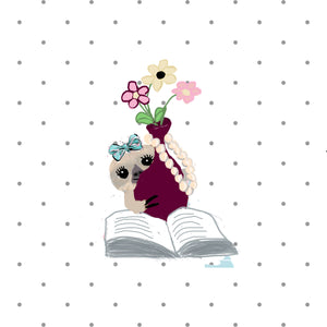 Moxie the Sloth Spring in bloom Die Cut Sticker - The Planner's World