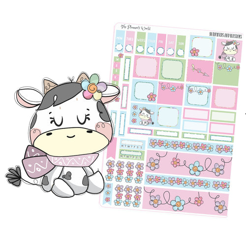Hobonichi weeks weekly kit - Barnyards and Blossoms Hobonichi Kit - The Planner's World