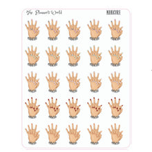 Manicure Planner Stickers - The Planner's World