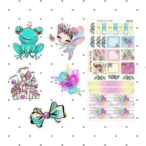 Hobonichi Week Sticker - Fairyland Hobonichi Kit - The Planner's World