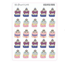 Washi Moxie sloth in washi stack planner stickers - The Planner's World