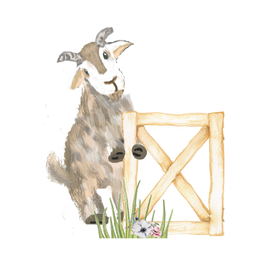 Nibbles the Goat Die Cuts - The Planner's World