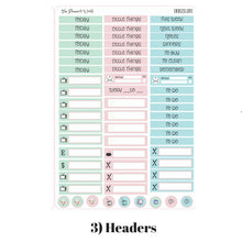 Endless Love Weekly Vertical Kit - The Planner's World