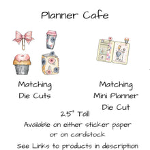Planner Cafe Weekly Vertical Sticker kit - The Planner's World