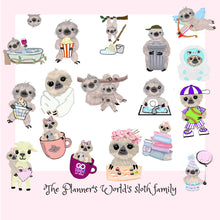 Pizza stickers - dinner - planner stickers - taco sticker - pizza - food sticker - Sloth Sticker - Taco Tuesday - cheat day - treats - lunch - The Planner's World