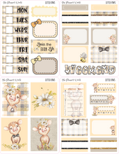 Little Cows Micro Kit Planner Stickers - The Planner's World