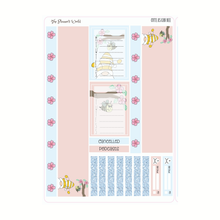 Cute as Can Bee Weekly Vertical Planner Stickers