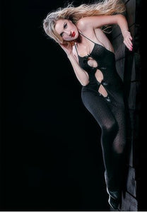 Bodystocking With Satin Bow