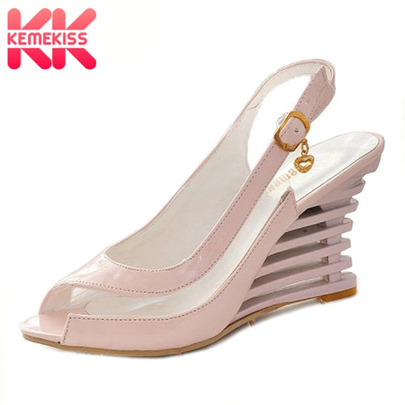 KemeKiss free shipping quality high heel sandals women sexy fashion lady female shoes P3319 hot sale EUR size 34-39