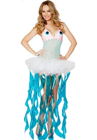Luxury Jellyfish Costume Dress