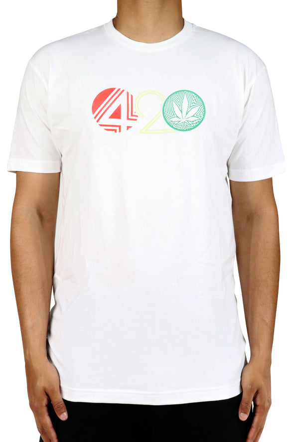 WHITE 420 SHORT SLEEVE SHIRT