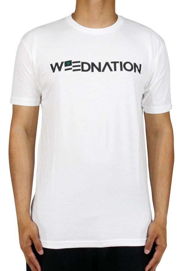 CLASSIC WEED NATION WHITE T-SHIRT
