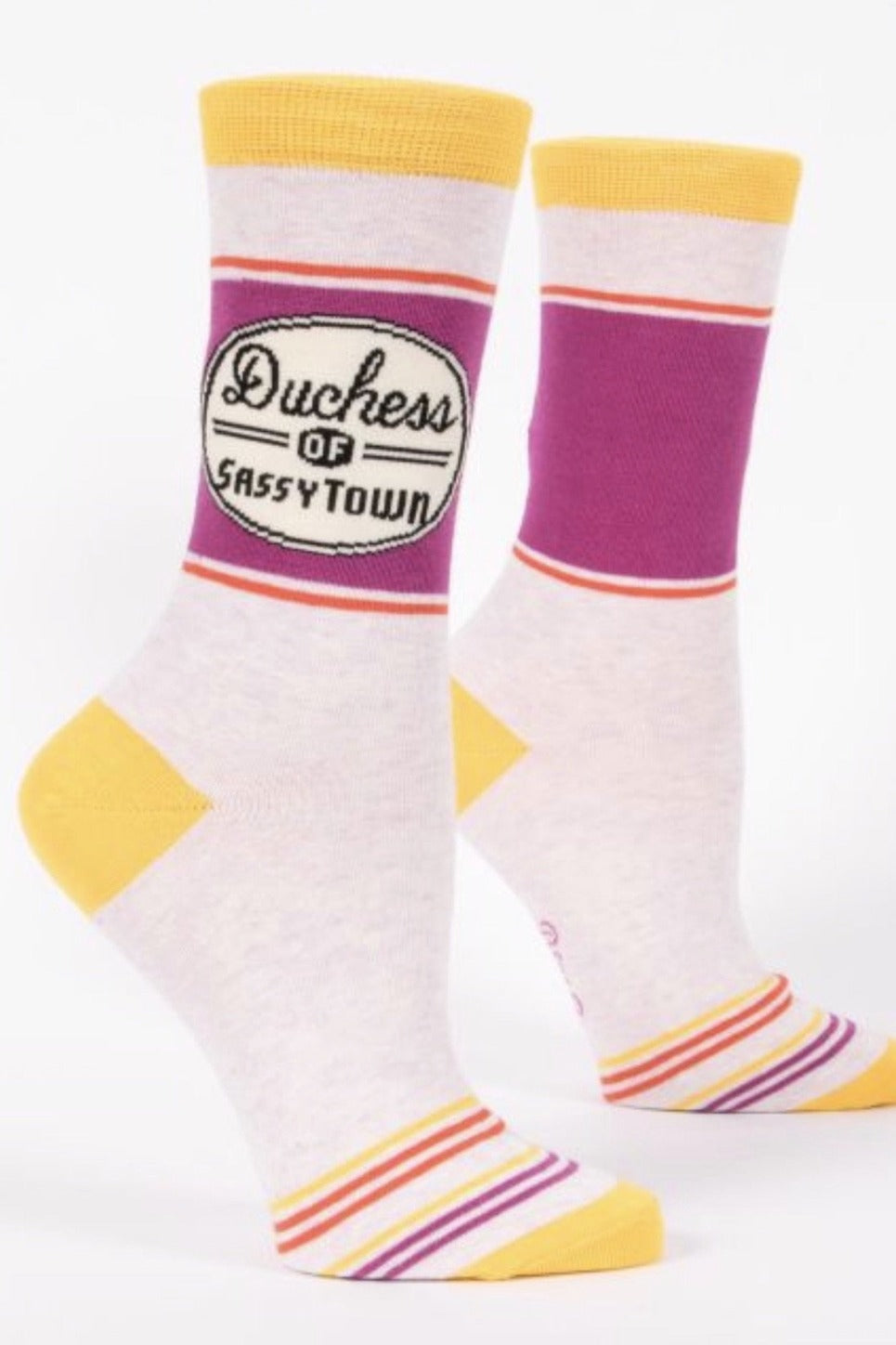 Duchess of Sassytown CrewSocks