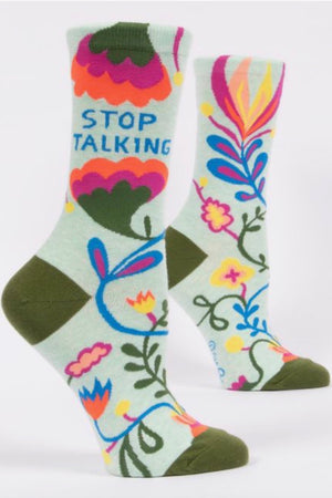 Stop Talking Crew Socks