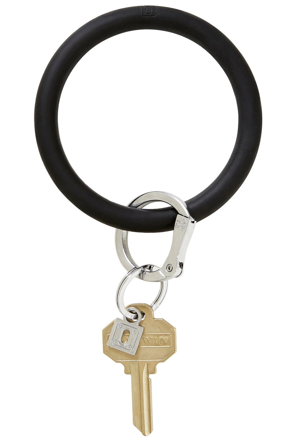 Big O Key Ring Silicone: Back in Black