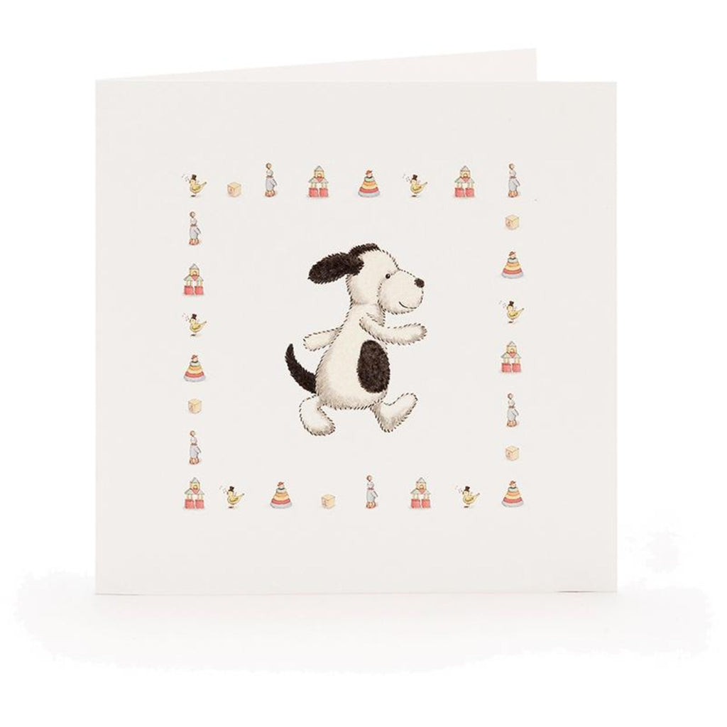 Bashful Puppy Card