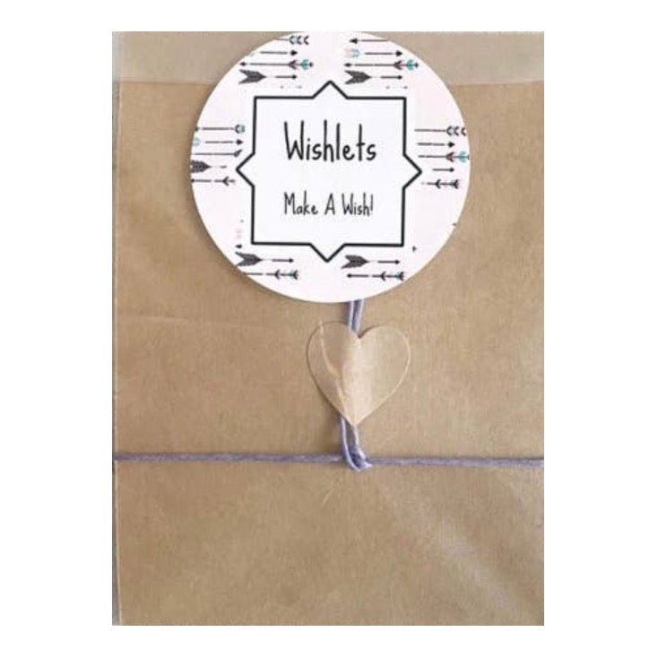 Scrub Life Wish Card and Bracelet