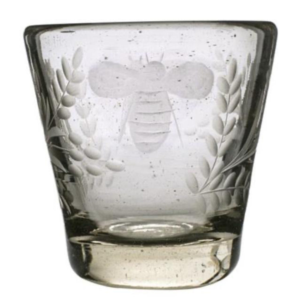 Jan Barboglio Wee-Bee Double Old Fashioned, Clear Glass