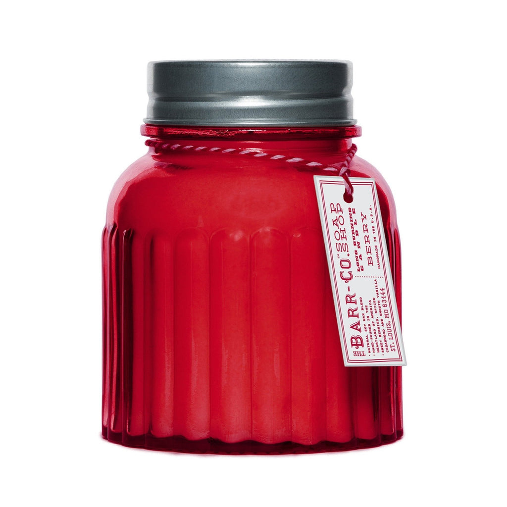 Barr-Co Apothecary Jar Candle: Berry