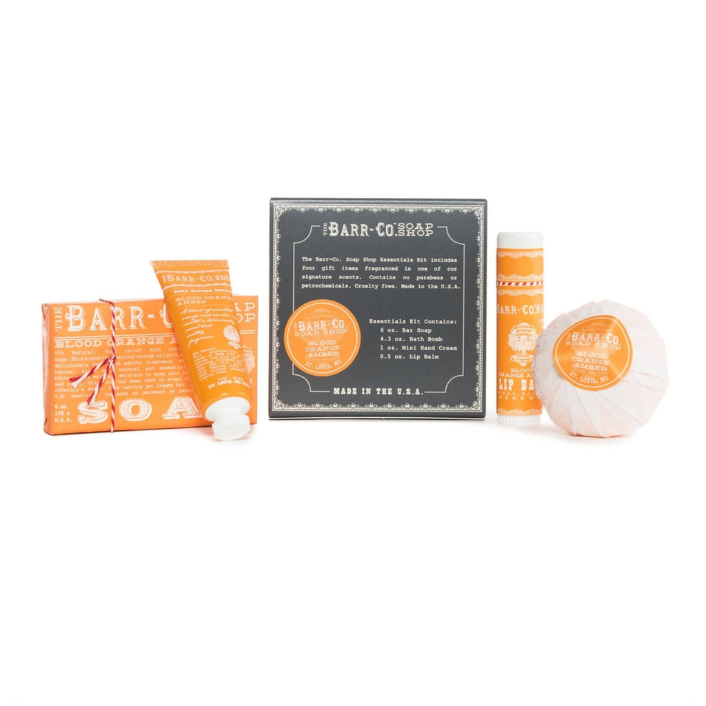 Barr-Co: Blood Orange Amber 4pc Essentials Kit